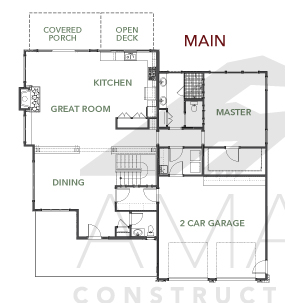 Magnolia house plan amarx homes for Magnolia homes floor plans